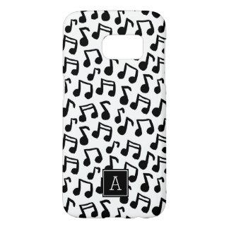 Coque Samsung Galaxy S7 La musique de très bon goût de griffonnage note le