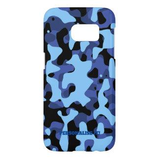 Coque Samsung Galaxy S7 Les militaires bleus camouflent