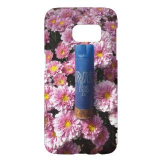 Coque Samsung Galaxy S7 Les munitions florales Shell téléphonent le cas