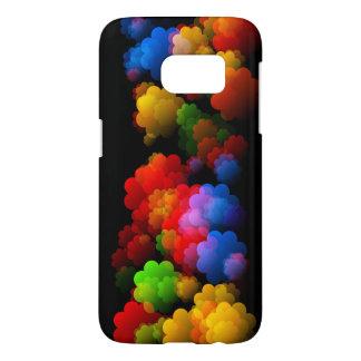 Coque Samsung Galaxy S7 Les nuages des rêves brillamment colorés