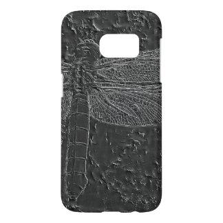 Coque Samsung Galaxy S7 Libellule fossilisée