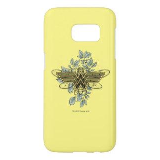 Coque Samsung Galaxy S7 Logo de reine des abeilles de femme de merveille