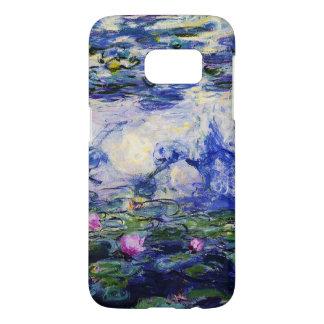 Coque Samsung Galaxy S7 Monet-Eau-Lis de Claude