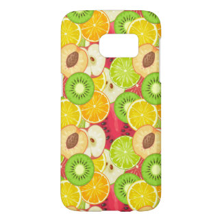 Coque Samsung Galaxy S7 Motif coloré de fruit d'amusement