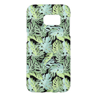 Coque Samsung Galaxy S7 Motif floral de jungle