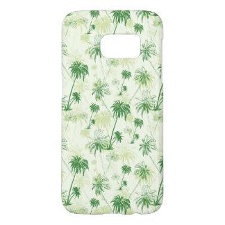 Coque Samsung Galaxy S7 Motif vert de palmier