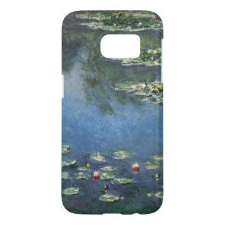 Coque Samsung Galaxy S7 Nénuphars par Claude Monet, fleurs vintages