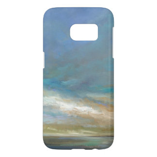 Coque Samsung Galaxy S7 Nuages côtiers avec l'océan