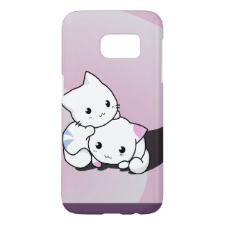 Coque Samsung Galaxy S7 Paires de chatons
