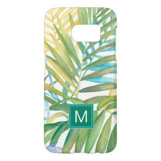 Coque Samsung Galaxy S7 Palmettes tropicales