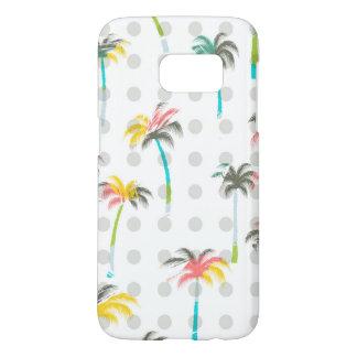 Coque Samsung Galaxy S7 Palmiers d'aquarelle
