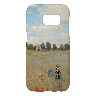 Coque Samsung Galaxy S7 Pavots sauvages de Claude Monet |, près