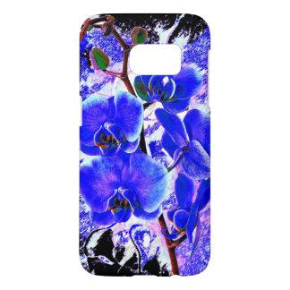 Coque Samsung Galaxy S7 Plante de fleur d'orchidée