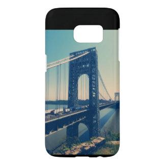 Coque Samsung Galaxy S7 Pont de George Washington, NYC