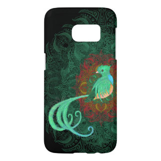 Coque Samsung Galaxy S7 Quetzal bouclé