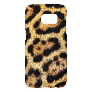 Coque Samsung Galaxy S7 Regard de fourrure de léopard