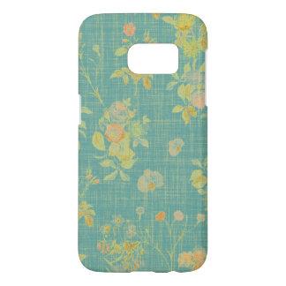 Coque Samsung Galaxy S7 Ressort vintage floral