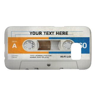 Coque Samsung Galaxy S7 Rétros meilleurs cadeaux compacts de la cassette