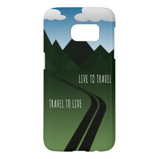 Coque Samsung Galaxy S7 Route de montagne