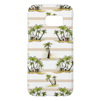 Coque Samsung Galaxy S7 Shack tropical et paumes
