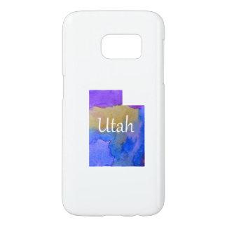 Coque Samsung Galaxy S7 Silhouette de l'Utah