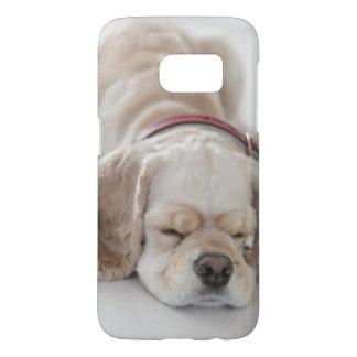 Coque Samsung Galaxy S7 Sommeil de chien de cocker
