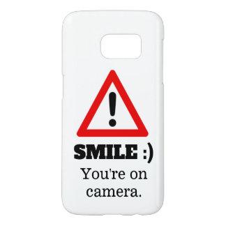 Coque Samsung Galaxy S7 Sourire :) cas de téléphone
