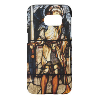 Coque Samsung Galaxy S7 St Michael par Burne Jones, Arkhangel vintage