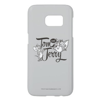 Coque Samsung Galaxy S7 Tom et Jerry | Tom et Jerry semblant doux