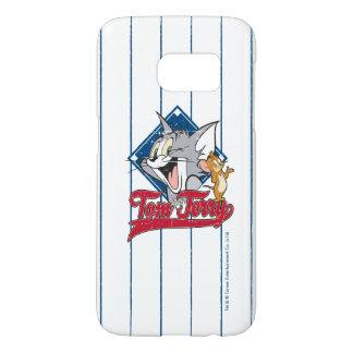 Coque Samsung Galaxy S7 Tom et Jerry   Tom et Jerry sur le diamant de