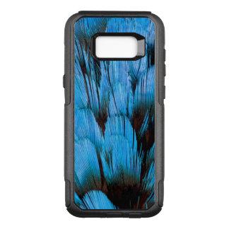Coque Samsung Galaxy S8+ Par OtterBox Commuter Abrégé sur à capuchon bleu plume de Pita