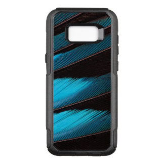 Coque Samsung Galaxy S8+ Par OtterBox Commuter Abrégé sur Bleu-Gonflé plume de rouleau
