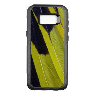 Coque Samsung Galaxy S8+ Par OtterBox Commuter Abrégé sur jaune et noir plume