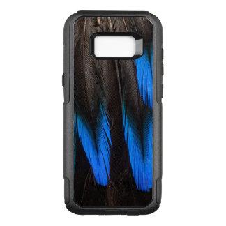 Coque Samsung Galaxy S8+ Par OtterBox Commuter Abrégé sur noir et bleu plume