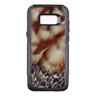 Coque Samsung Galaxy S8+ Par OtterBox Commuter Abrégé sur plume de Brown Tragopan