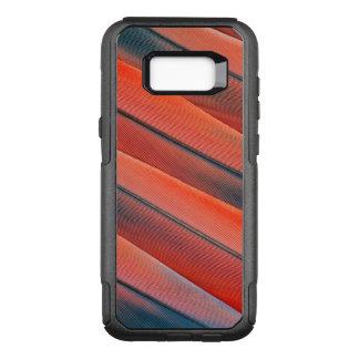 Coque Samsung Galaxy S8+ Par OtterBox Commuter Abrégé sur rouge plume d'ara