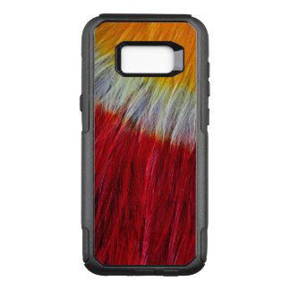 Coque Samsung Galaxy S8+ Par OtterBox Commuter Abrégé sur rouge plume de toucan de Breasted