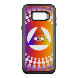 Coque Samsung Galaxy S8+ Par OtterBox Commuter Alternative d'oeil d'Illuminati
