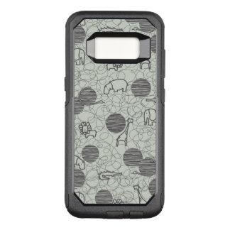 Coque Samsung Galaxy S8 Par OtterBox Commuter animaux 1 de safari