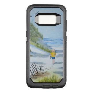 Coque Samsung Galaxy S8 Par OtterBox Commuter Aquarelle de plage