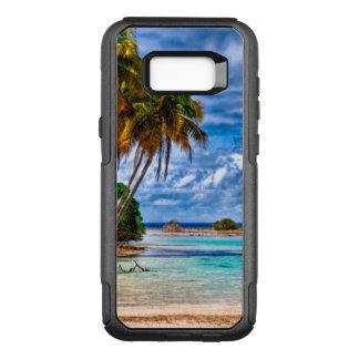 Coque Samsung Galaxy S8+ Par OtterBox Commuter Aquarelle hawaïenne de plage de joli été mignon