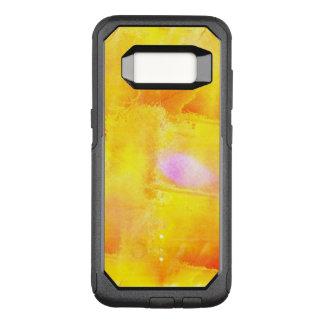 Coque Samsung Galaxy S8 Par OtterBox Commuter aquarelle sans couture d'arrière - plan de jaune