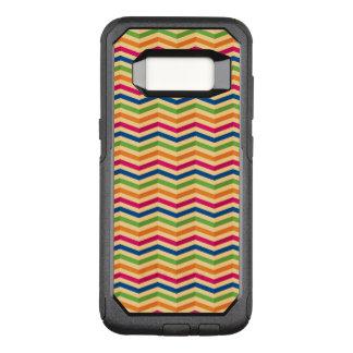 Coque Samsung Galaxy S8 Par OtterBox Commuter Arrière - plan avec des rayures dans rétro