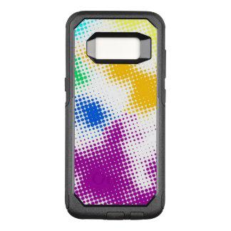 Coque Samsung Galaxy S8 Par OtterBox Commuter Arrière - plan coloré tramé aléatoire