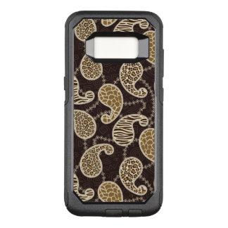Coque Samsung Galaxy S8 Par OtterBox Commuter Arrière - plan de style de Paisley