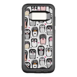 Coque Samsung Galaxy S8 Par OtterBox Commuter arrière - plan d'illustration d'oiseau de pingouin