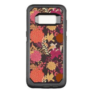 Coque Samsung Galaxy S8 Par OtterBox Commuter Arrière - plan floral 2