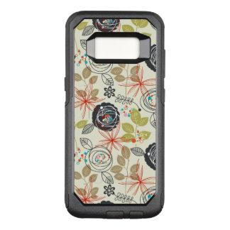 Coque Samsung Galaxy S8 Par OtterBox Commuter Arrière - plan floral 3