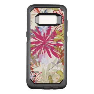 Coque Samsung Galaxy S8 Par OtterBox Commuter Arrière - plan floral 6