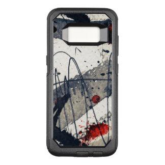 Coque Samsung Galaxy S8 Par OtterBox Commuter Arrière - plan grunge abstrait, texture d'encre